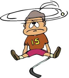 Что такое сотрясение головного мозга?