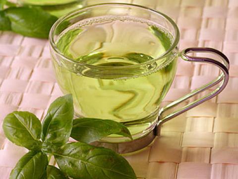 Зеленый чай помогает в лечении цистита