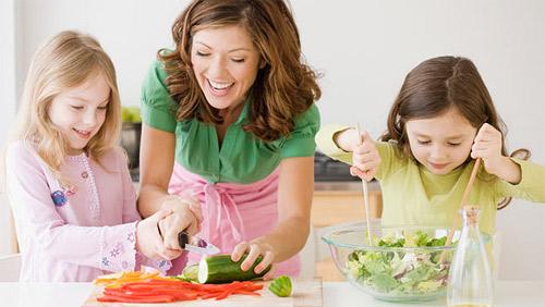 дети и здоровое питание