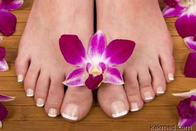 красивые и здоровые ногти на пальцах ног