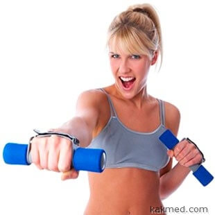 физические упражнения - лучший способ улучшить кровообращение