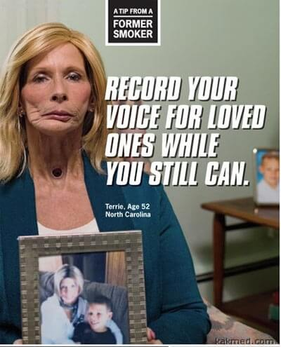 Антитабачная реклама в США