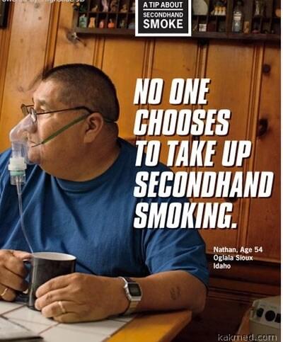 Новая социальная реклама против курения
