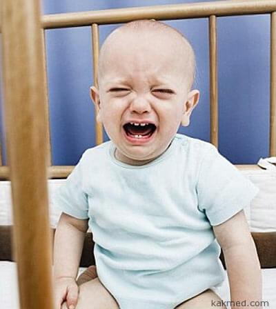 Ночной плач ребенка