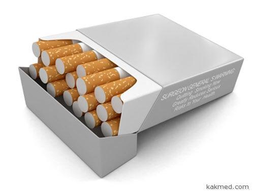 Сигареты надо продавать в аптеке