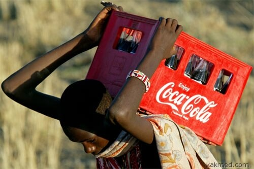 Кока Кола напиток для бедных