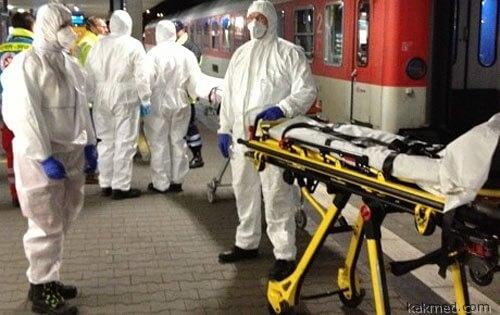 Поезд остановили из-за норовируса