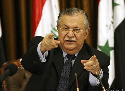 Президент Ирака Талабани болеет
