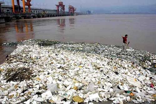 Китай запрет на пластиковые тарелки
