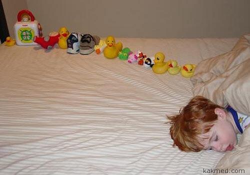 Ребенок аутист и его труды