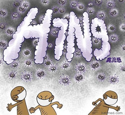 Птичий грипп охотится на китайцев