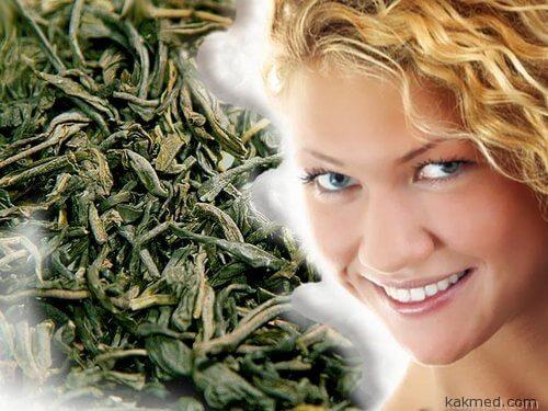 Зеленый чай - залог красивой кожи