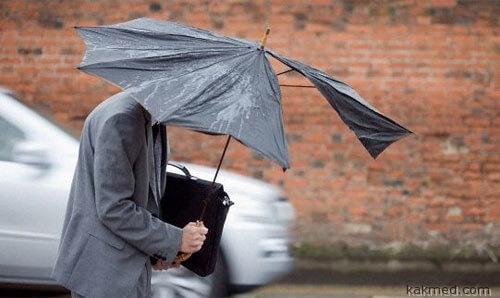 Плохая погода опасна для жизни