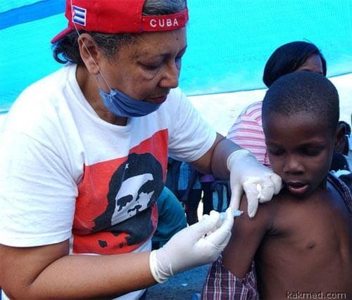 Кубинские врачи на экспорт