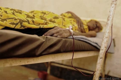 Африке нужна стерильная кровь