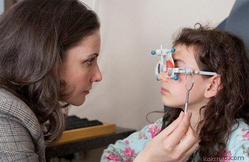 Измерение зрения эксперимент