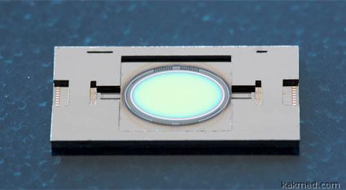 Новое микрозеркало для лазера