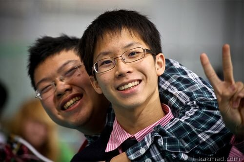 Близорукость у китайцев