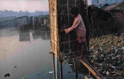 В Индии грязновато