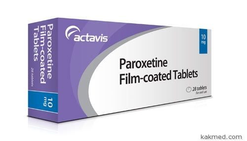 Пароксетин против приливов