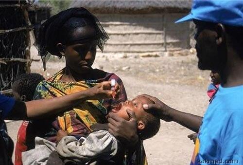 Вакцинация против полиомиелита в Сомали