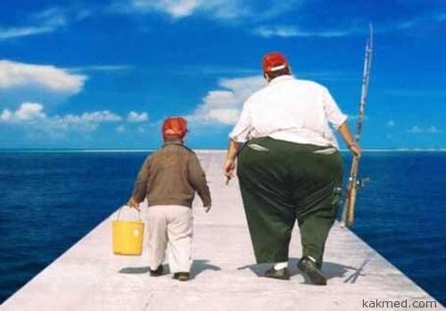 Ожирение передам по наследству