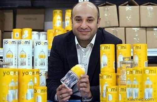 Изобретатель чудо-бутылочки Джим Шайх