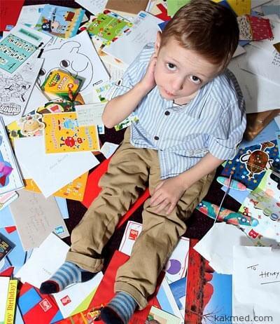 Рекорд мира по полученным открыткам ко дню рождения