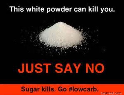 Скажи сахару нет