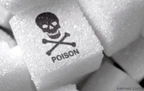 Сахар надо маркировать черепом