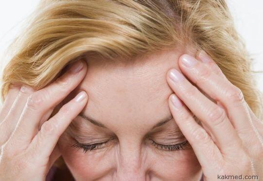Головная боль при сужении сосудов головного мозга