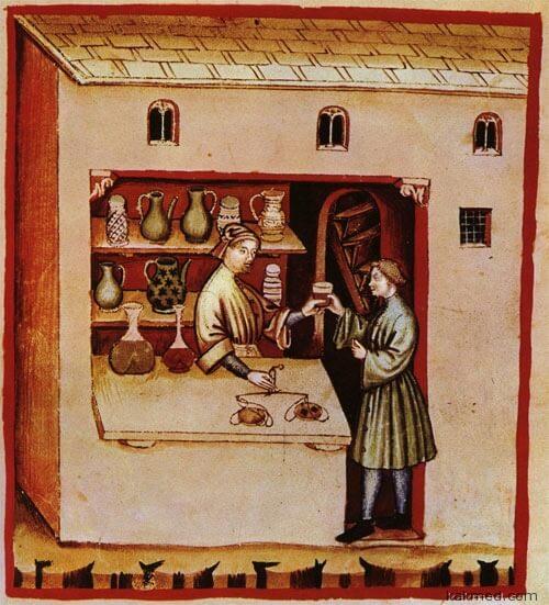 Современная аптека вполне средневекова