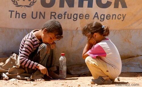 Несчастные сирийские дети