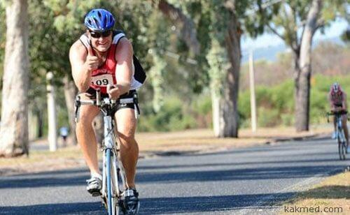 Почему триатлонистам не больно