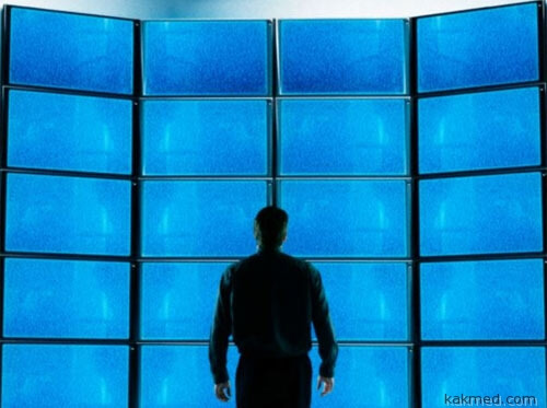 Экспозиция синего света
