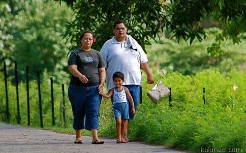 Толстые полинезийцы группа риска диабета