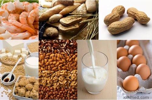 Продукты пищевая аллергия