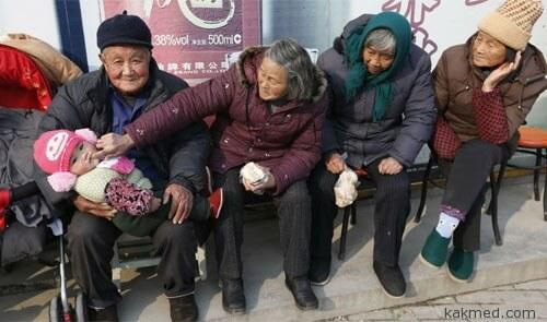 Китай и дети