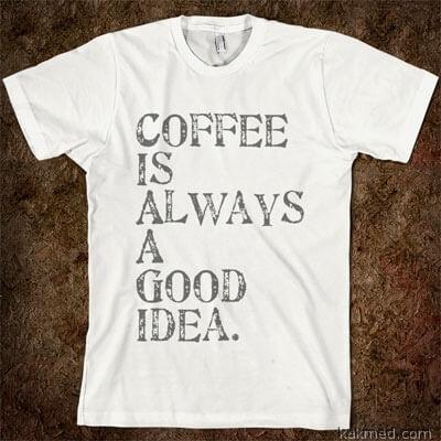 Кофе это хорошо