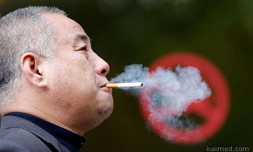 Запрет на курение в Китае