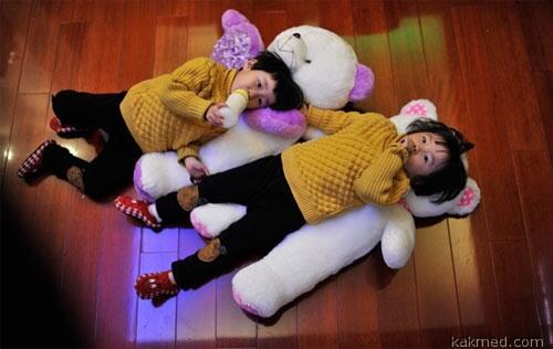 Чудо-близнецы в Китае