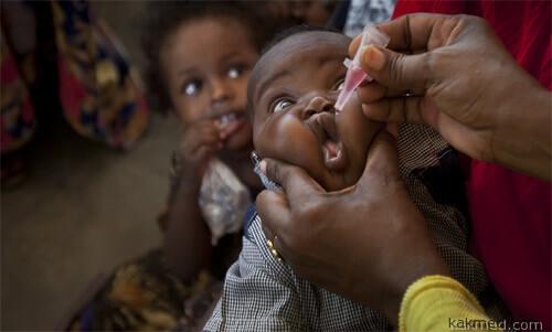 Полиомиелит в Кении