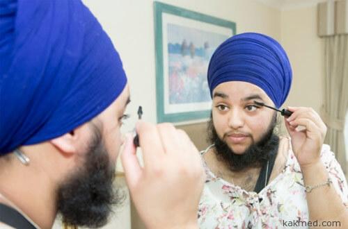 Бородатая женщина-сикх