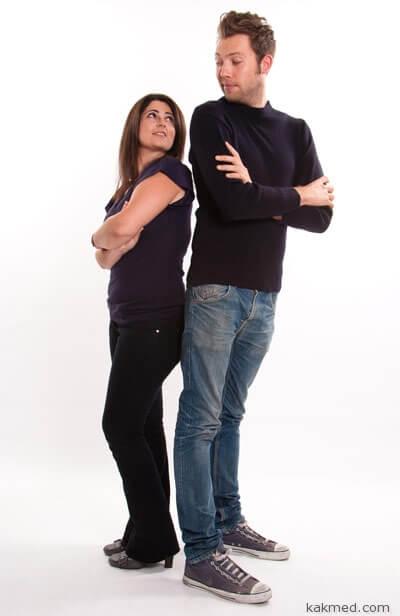 Почему мужчины выше женщин