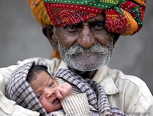 Стареющий отец