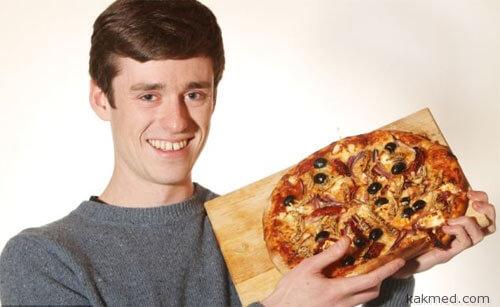 Пицца с насекомыми полезна для сердца