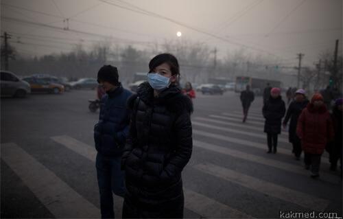 Загрязнение воздуха в Азии