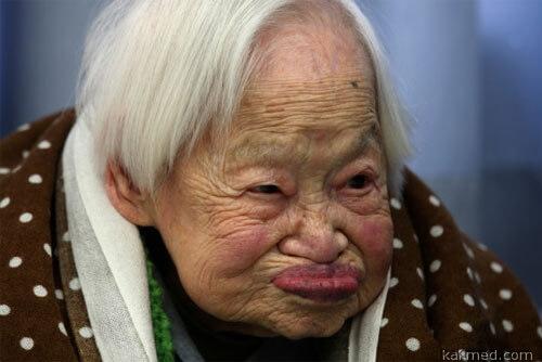 очень старая бабуля
