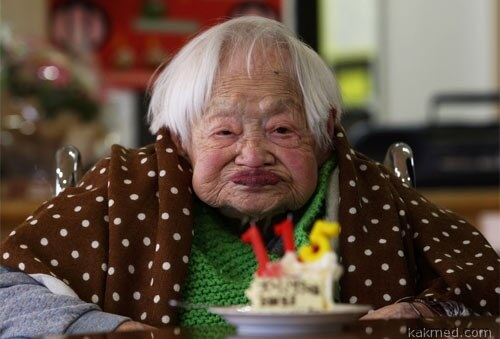День рождения долгожительницы
