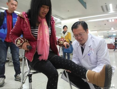 Успешная операция в Китае